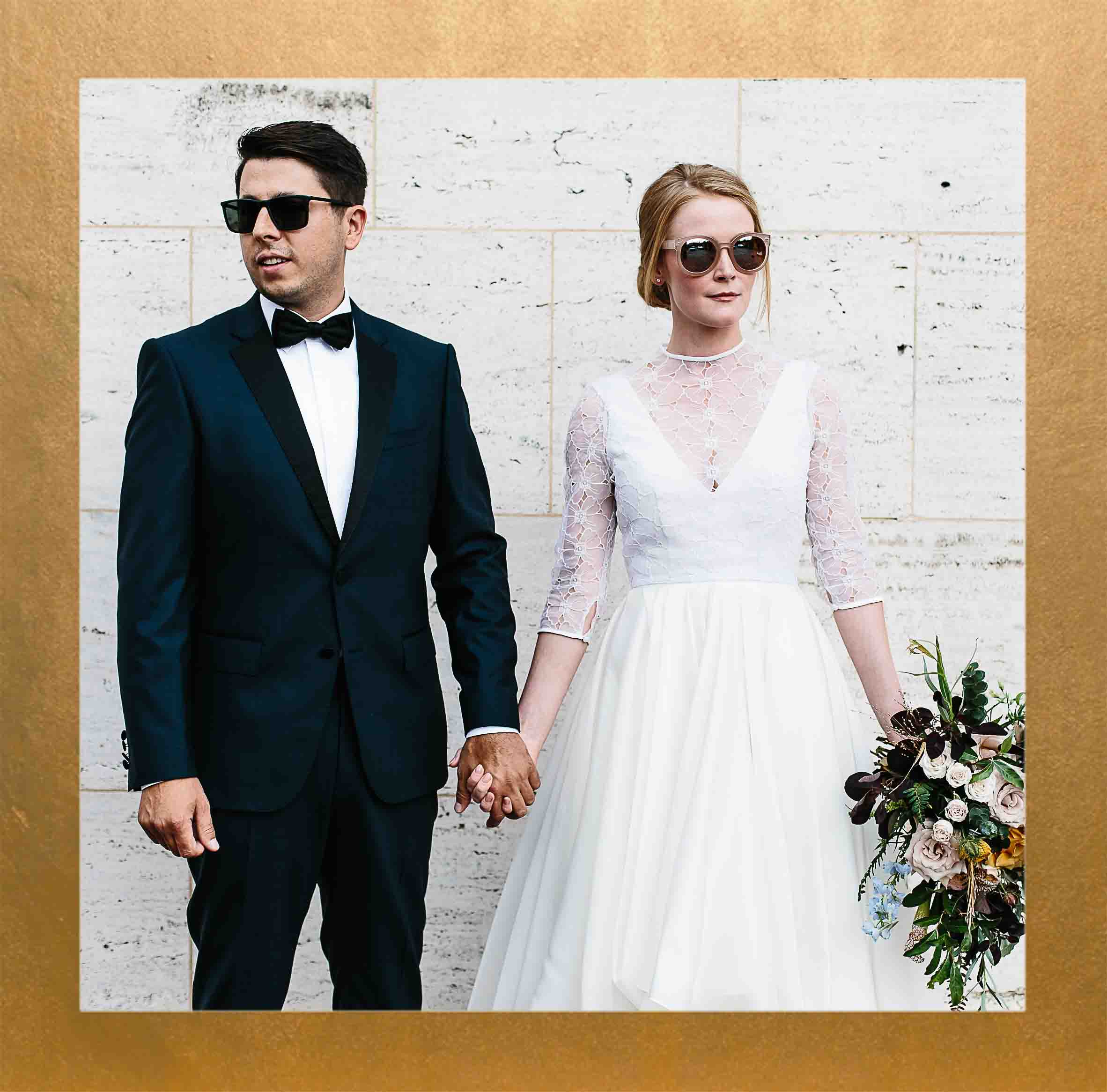 Cool and Creative Downtown DC Wedding
