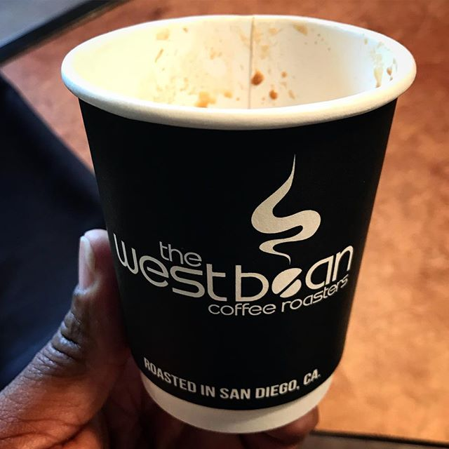 "Sometimes a random customer makes a ""Wise Decision"" and brings you an #Espresso from the Best Bean (that's @thewestbean for those among you who aren't in the know) I wish I knew their insta handle to thank them for the kind gesture!!!!"