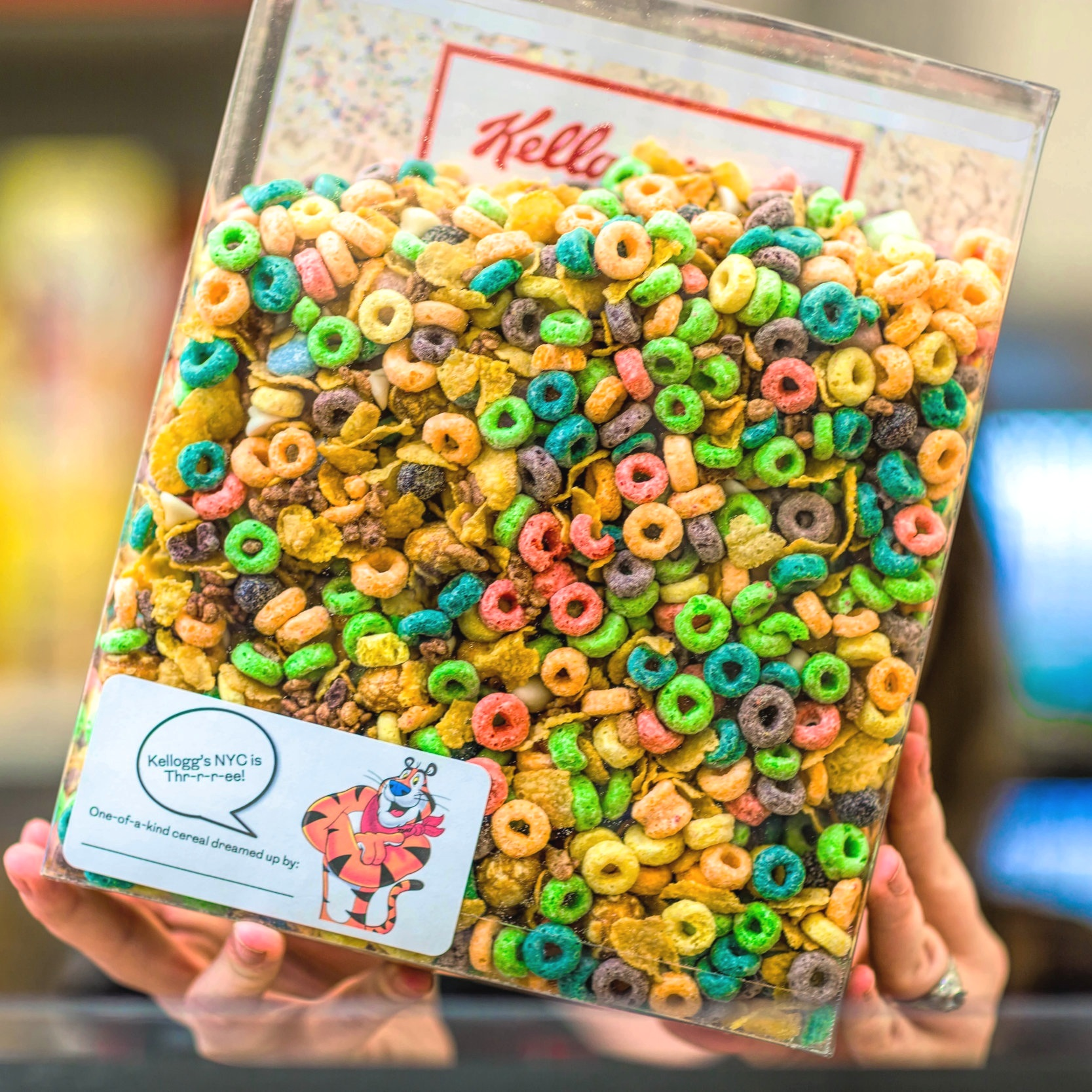 Mix-A-Box Custom Cereal Party Favor -