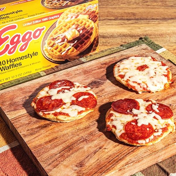Eggo Pizzettas -