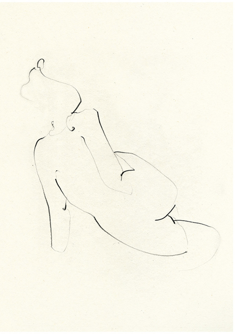 Nude One print by Ekaterina Koroleva, £45 - Workshop