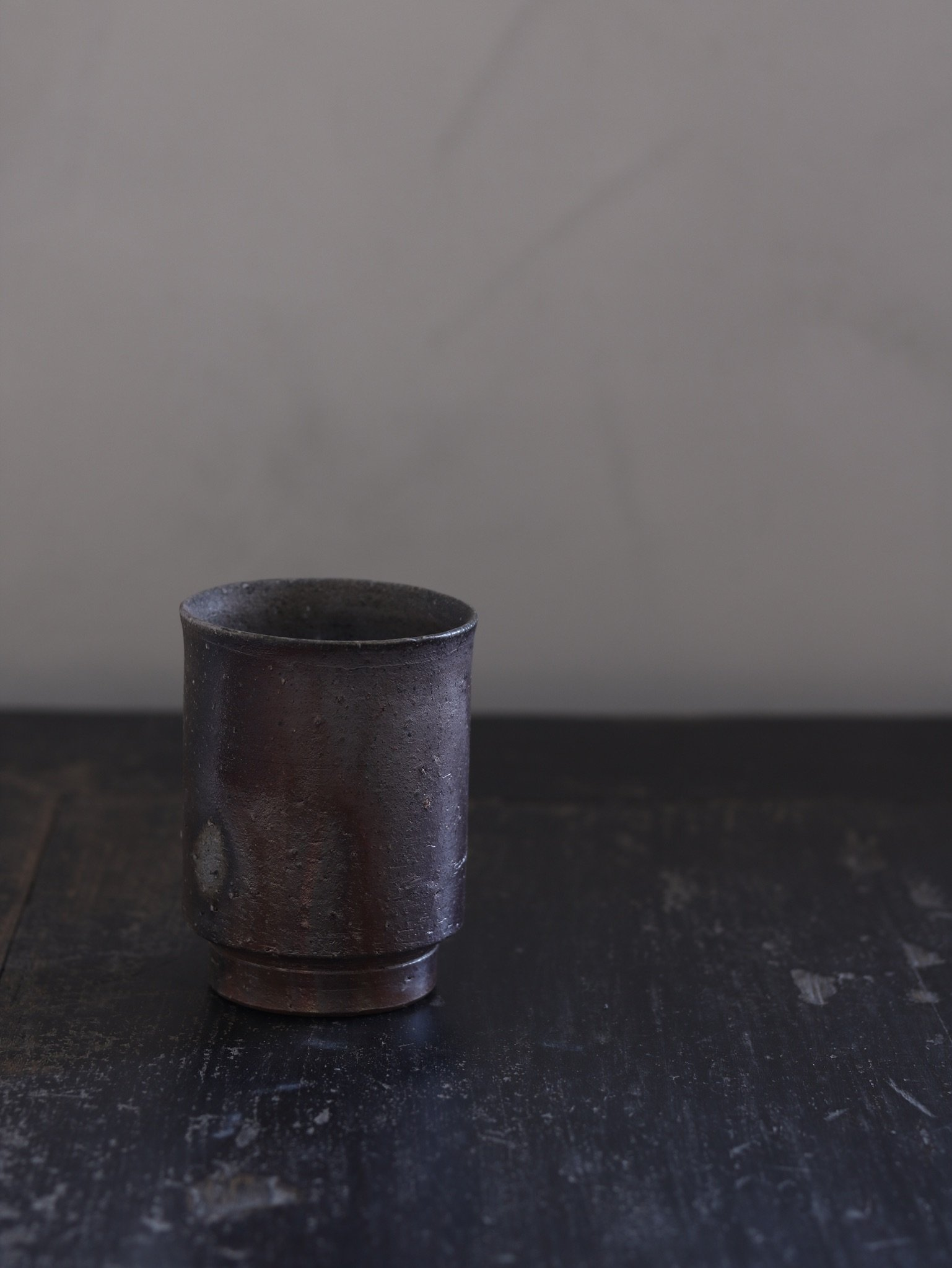 Bizen-Yaki High Cup by Asemi Artisan, £60 - Perspective Studio