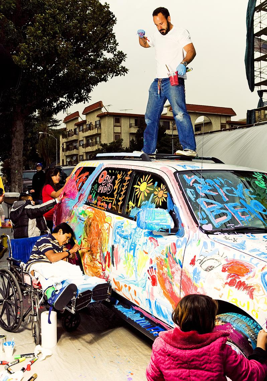 Michael Muller on car.jpg
