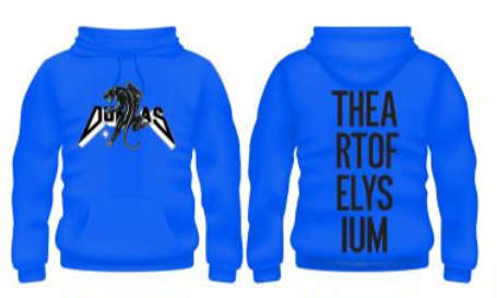 DUNDAS x The Art of Elysium Sweatshirt. Limited Edition of 500.
