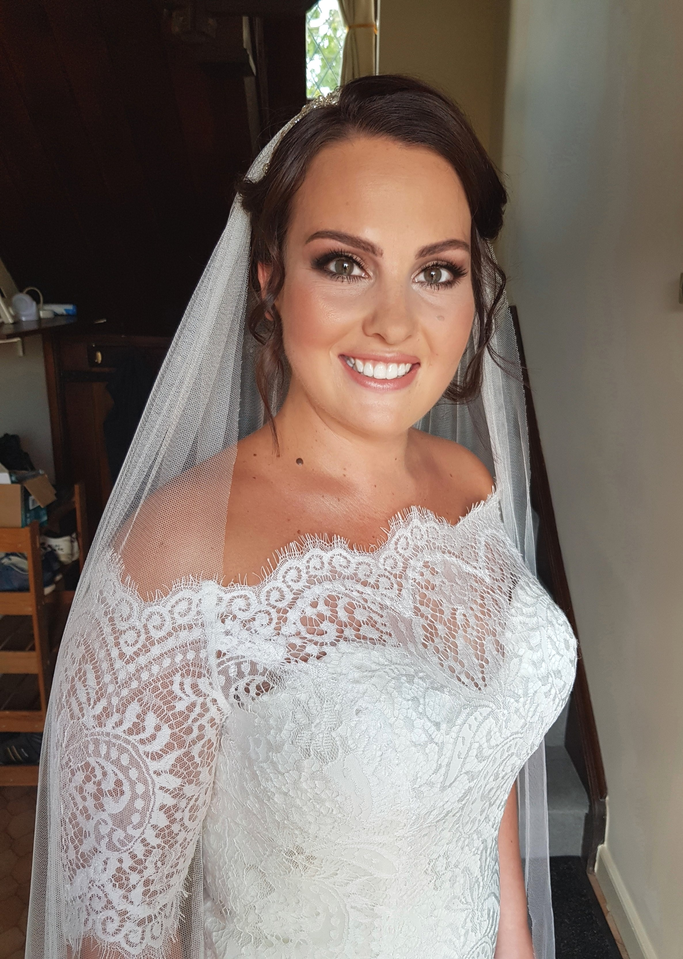 FRANCESCA - Nuneaton, July 2018Dress by PronoviasHair by Mode Bridal hair