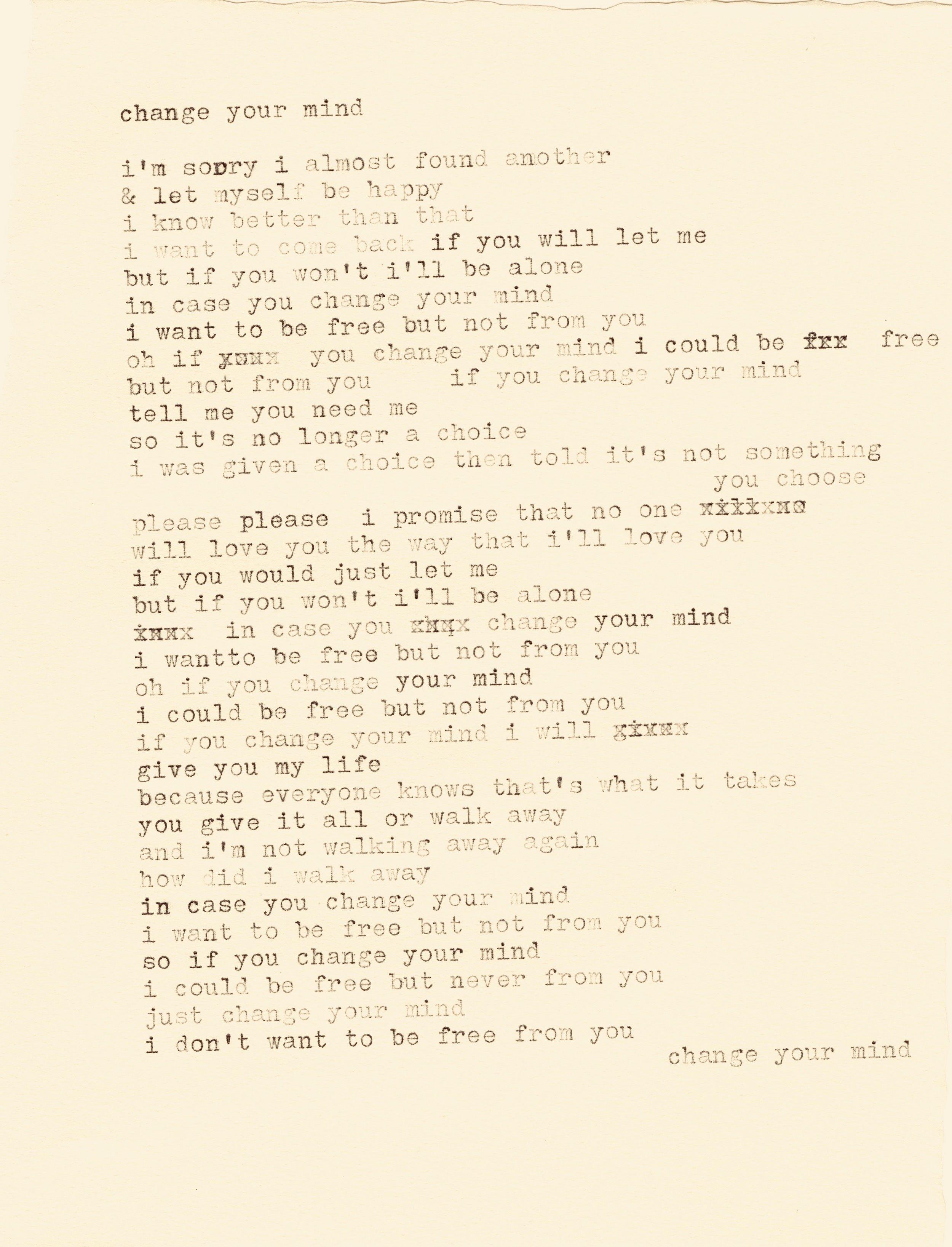 change your mind lyrics typewriter.jpg