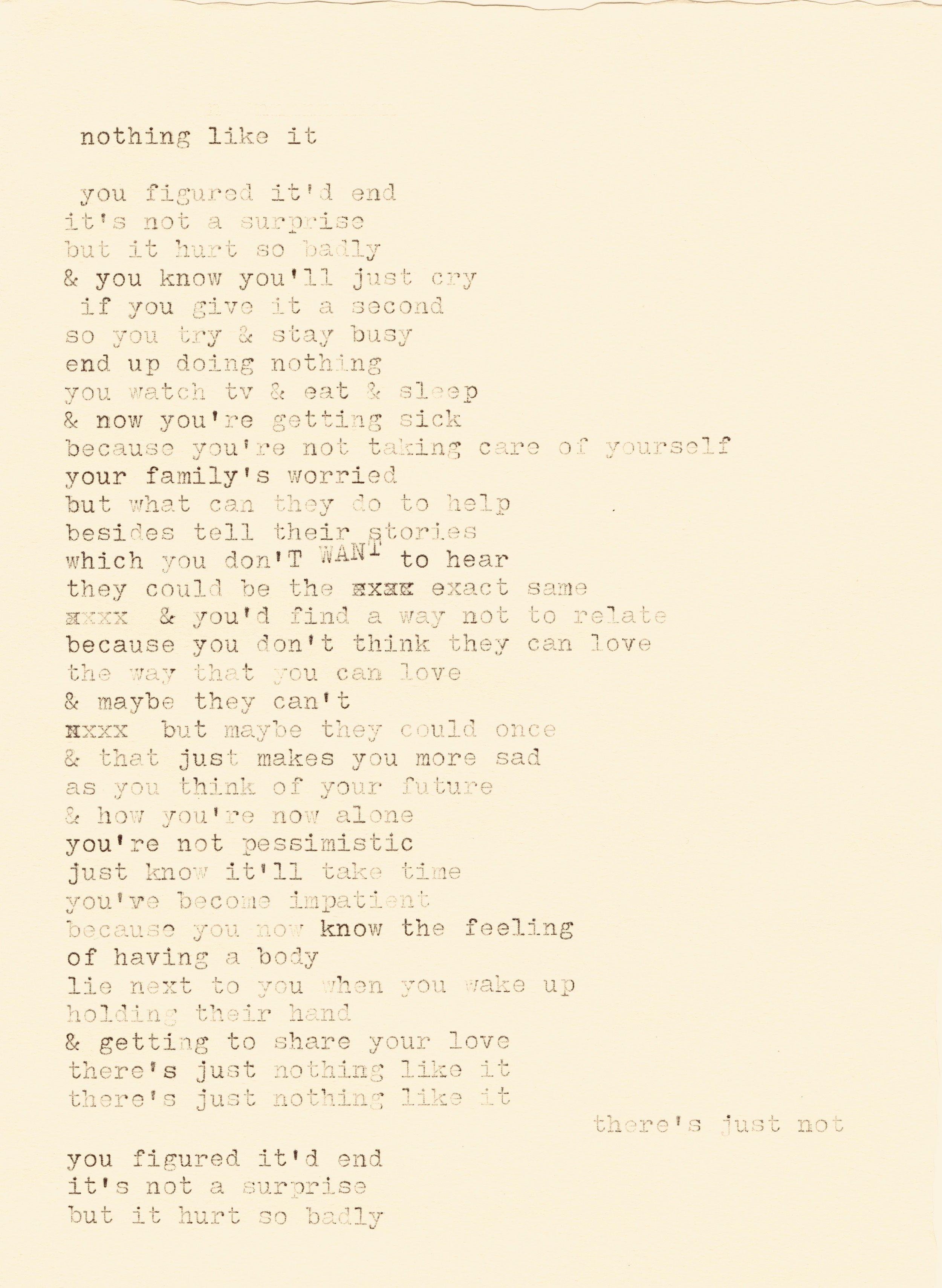 nothing like it lyrics typewriter.jpg
