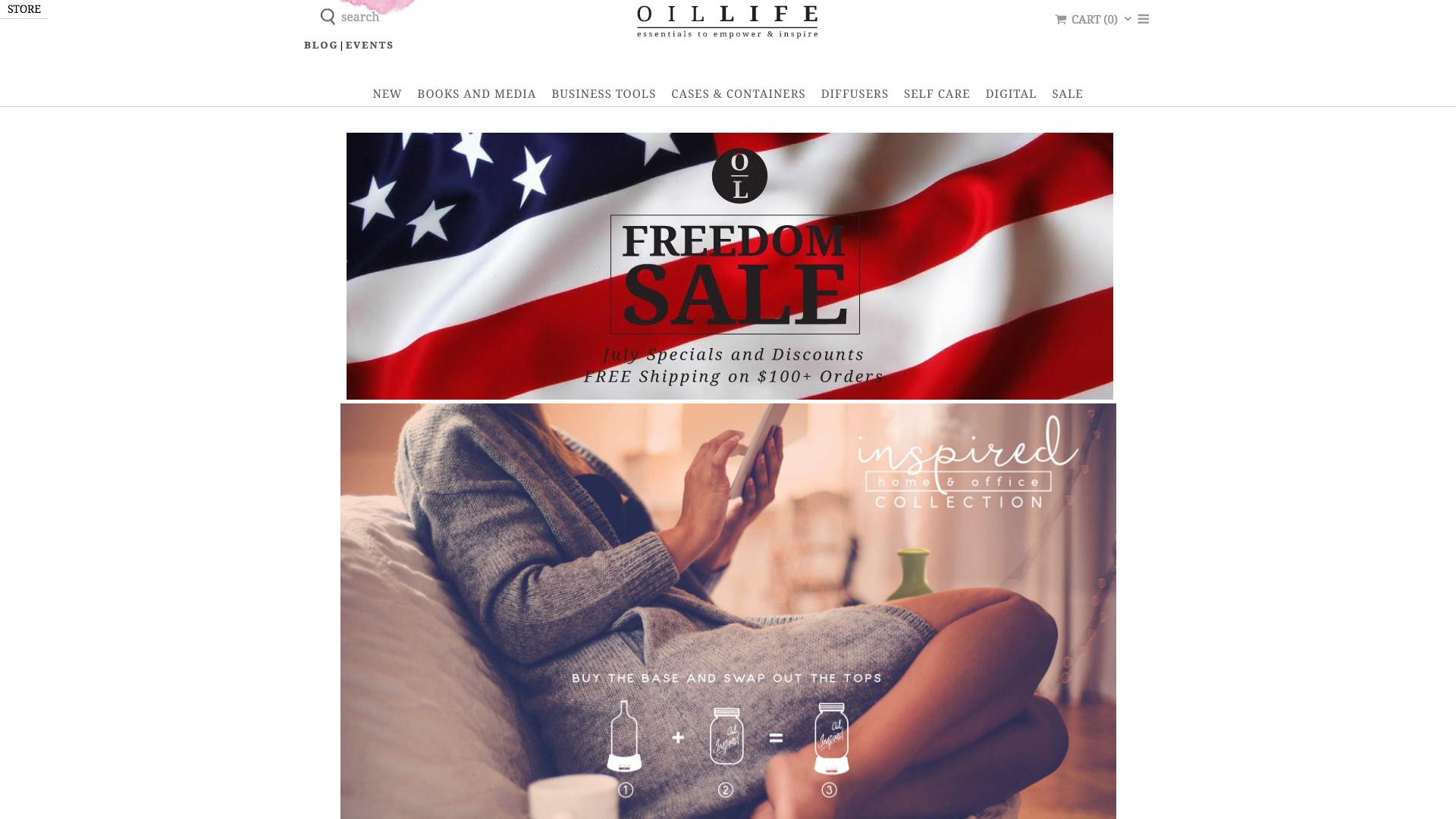 Oil Life Website