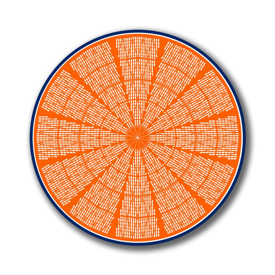 Astros Orange.
