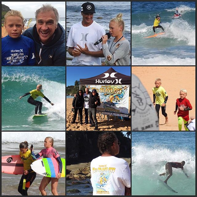 Best Grom comp ever. @blsblastoff was fun.  Super proud of my kids and all their friends having the best time competing and being kids.  Thanks @barton_lynch ya legend.  Love coming down to this comp every year #blsblastoff2016
