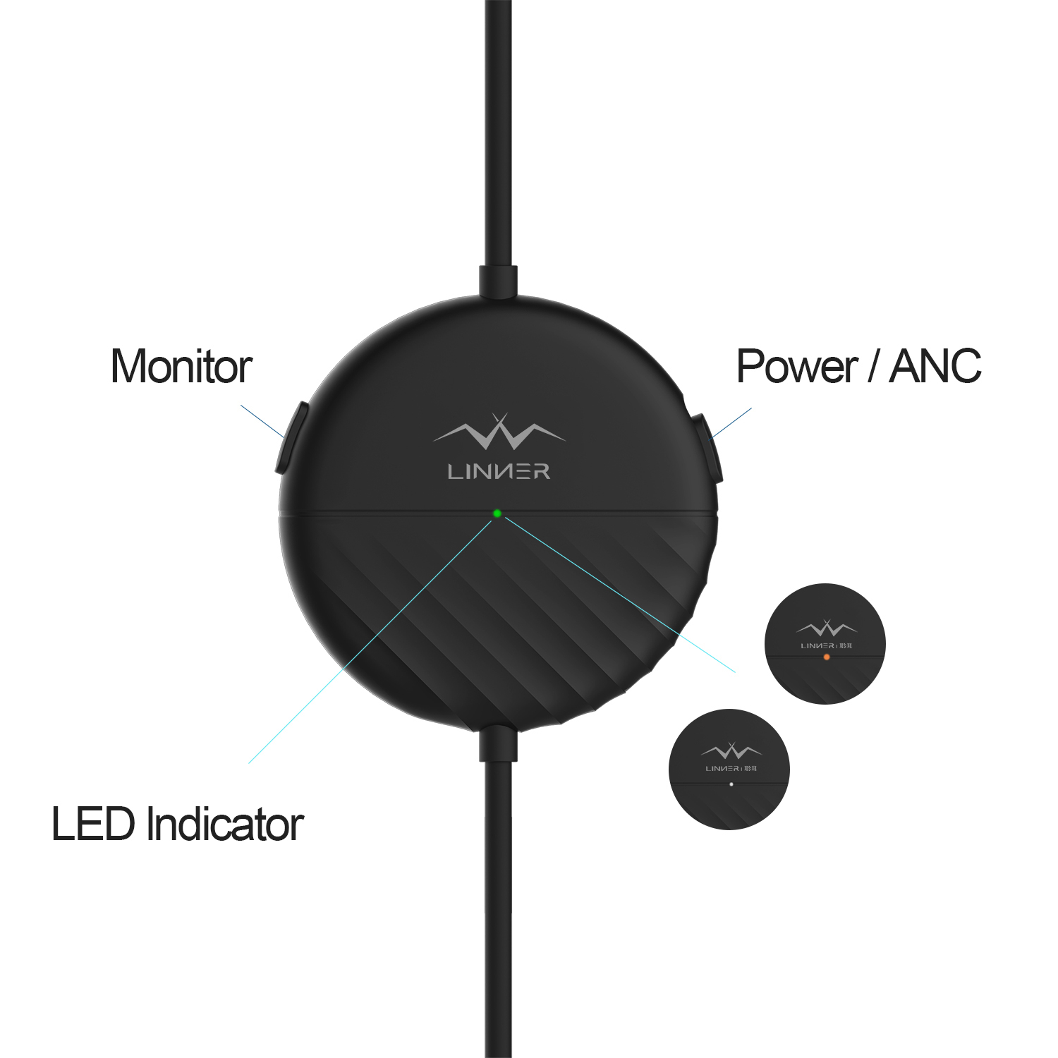 Full Button Control - 3 buttons in-line remote for full audio playback includes volume adjustment, track selection, and play/pause functionality. Built-In Microphone Enables for crispy phone calls and undisturbed voice transmission.