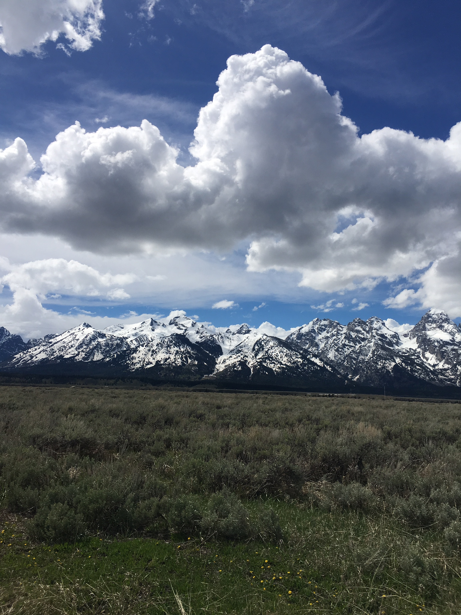 Teton Mountains, Jackson Hole, Wyoming