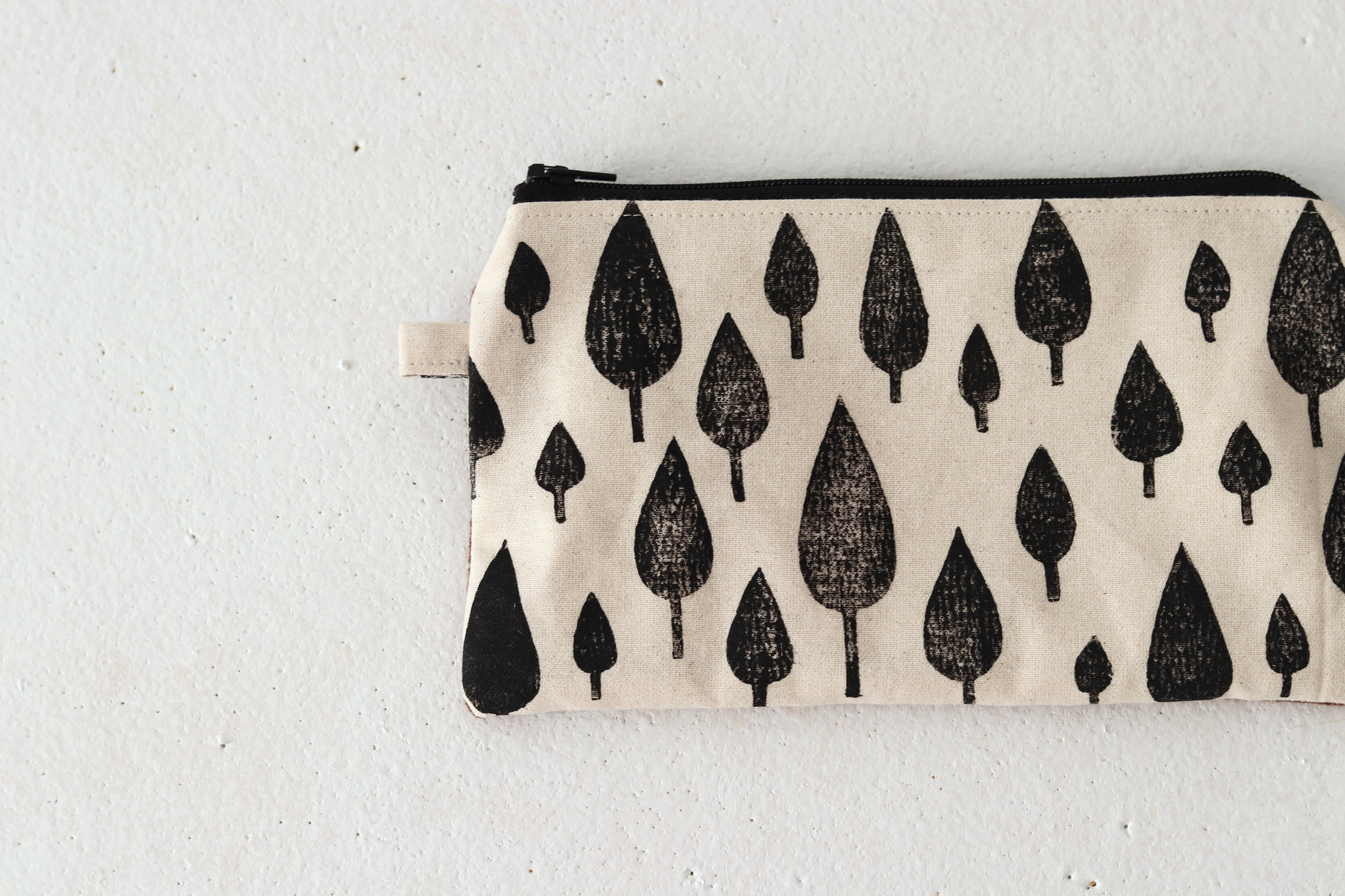 tool zip pouch handmade by TwigBerryStudio