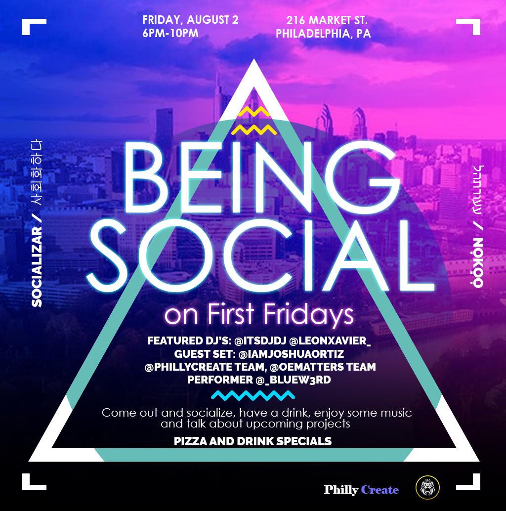 Friday, August 2, 2019/ 6pm-10pm/ 216 Market St. Philadelphia, Pa