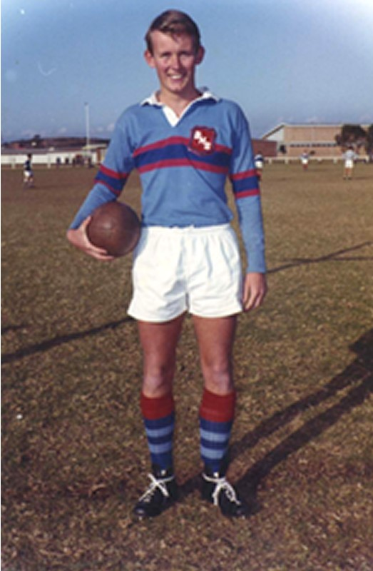 "1964 Balgowlah High Rugby 1st XV ""Best & Fairest""."
