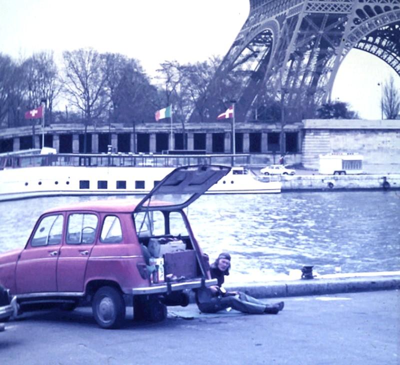 First trip to Paris - repairing my R4