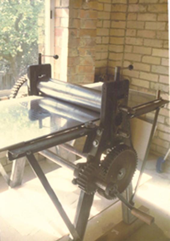 The second 'junk yard' press