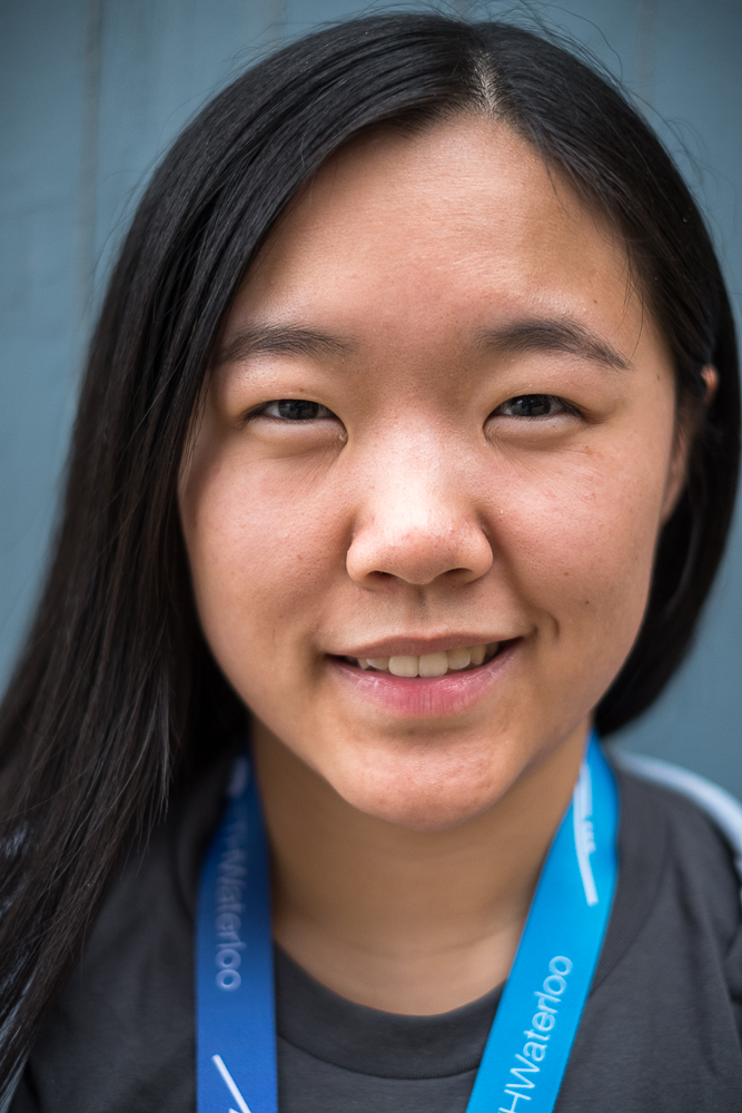 Julia Xu, 21, Waterloo, Ontario, Canada -
