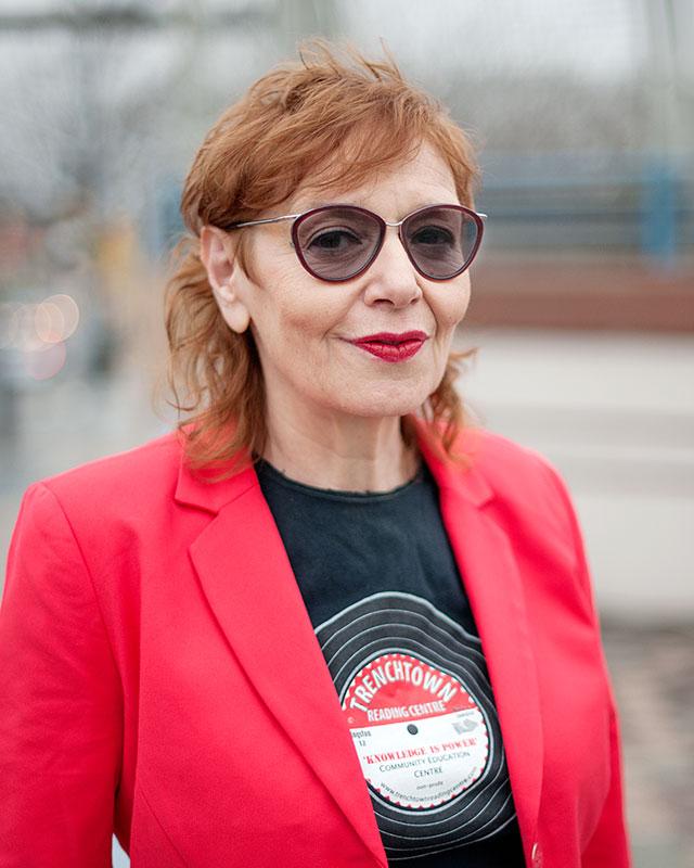 Vivien Goldman, writer and professor of punk