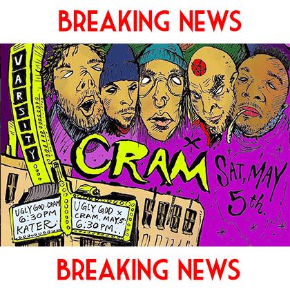 CRAM BREAKING NEWS 4/1/2018
