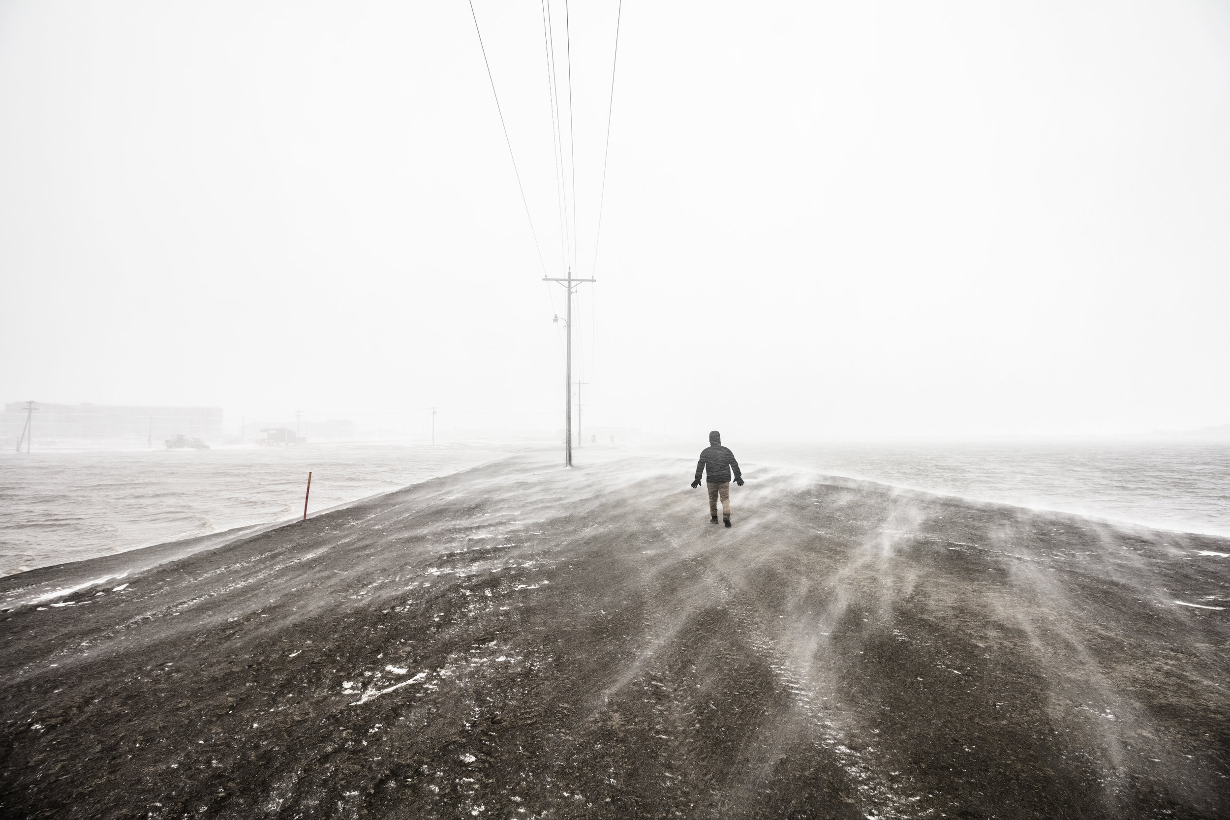 Drifting Snow Conditions
