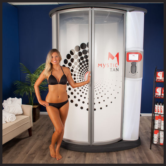 Mystic Kyss Automated Booth by Mystic Tan