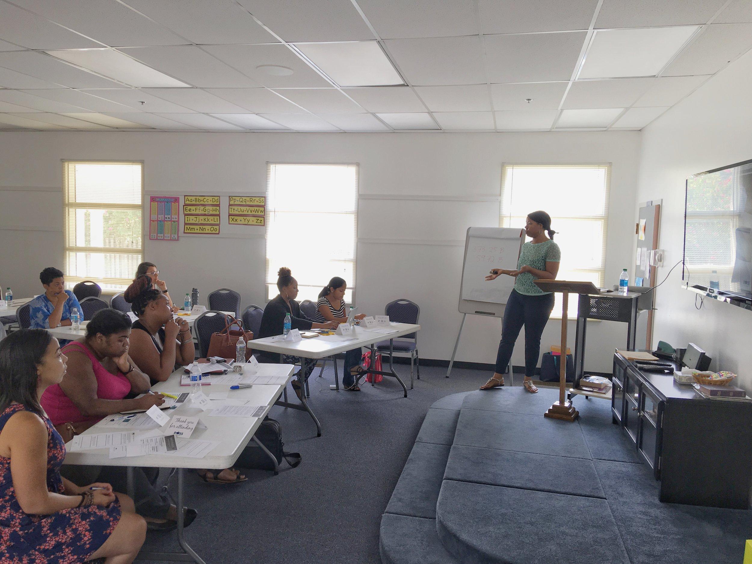 Boss on a Budget_Tiffany teaching grants class