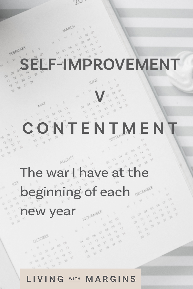 What do I chase after in the new year? Self-improvement, productivity and goals, or, peace, contentment and simplicity? #newyear #peace #planning #simplelife