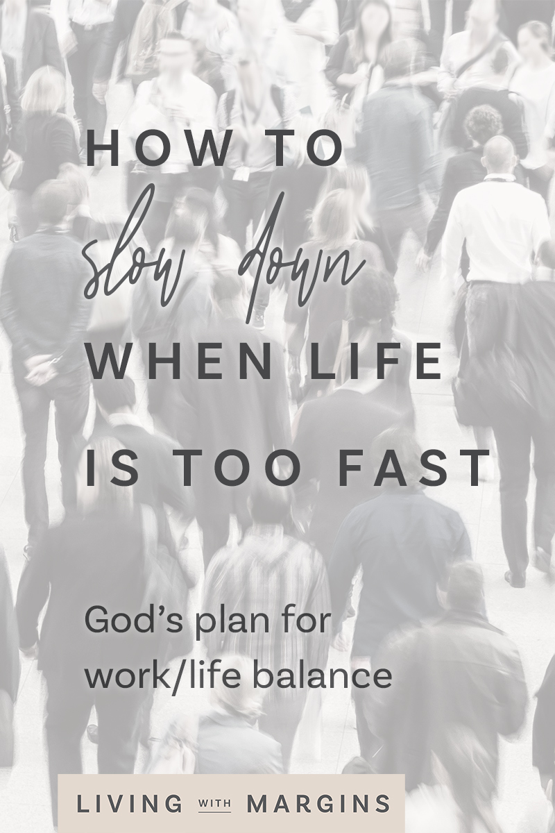 God's plan for work/life balance that helps us work at our most productive, and enjoy times of rest and connection. #sabbath #rest #productivity #worklifebalance