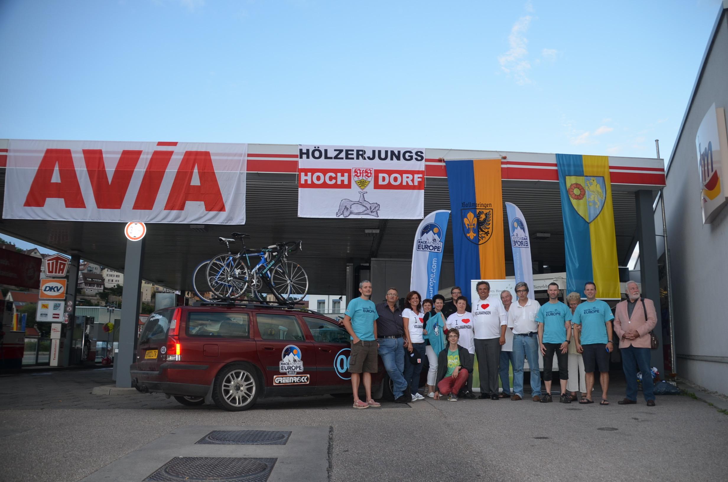 Our amazing German supporters in Horb am Neckar and Volmaringen