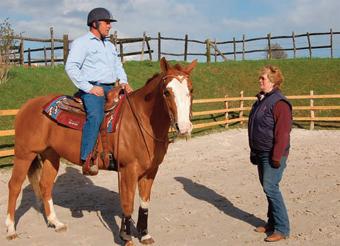 Western riding coaching