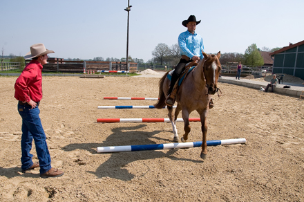 Coaching the western rider