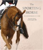 Sporting Horse: In pursuit of Equine Excellence   The Sporting Horse is a glorious celebration of the athletic abilities of these beautiful animals, and the unique relationship that has evolved between horse and rider. Working side-by-side for centuries, horse and man have achieved a lasting synergy - and nowhere is that more evident than in the sporting arena.  by Nicola Jane Swinney (Author), Jane Holderness-Roddam CBE LVO (Foreword), Bob Langrish MBE (Photographer)  Available from Amazon £24.99 also available in Kindle