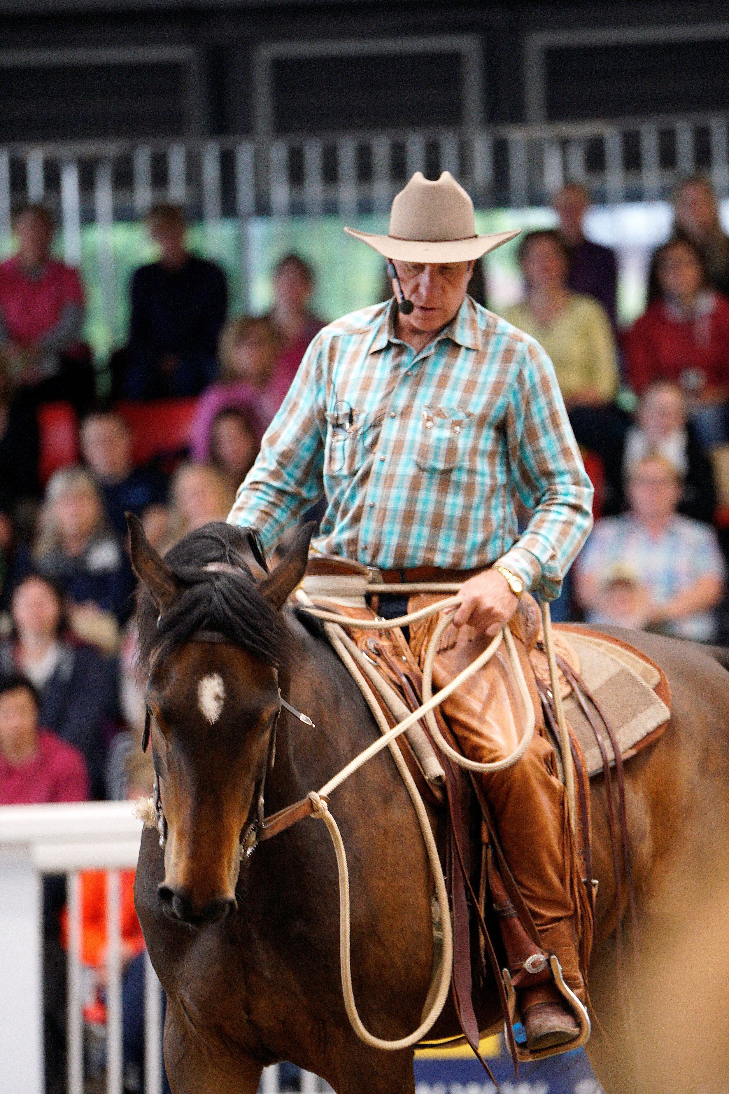 Buck is Back! - Come to Aintree International Arena from Friday 7th June to Sunday 9th June 2019 to watch one of the world's most talented horsemen conduct his third UK clinic, in conjunction with Total Horsemanship.