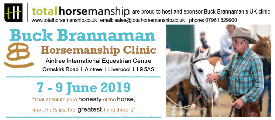 We look forward to seeing you there! Tickets can be purchased via  www.totalhorsemanship.co.uk