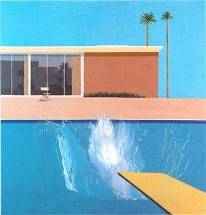 David Hockney,  A bigger splash