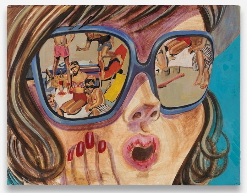 Ella Kruglyanskaya,   Girl with Sunglasses,   2008