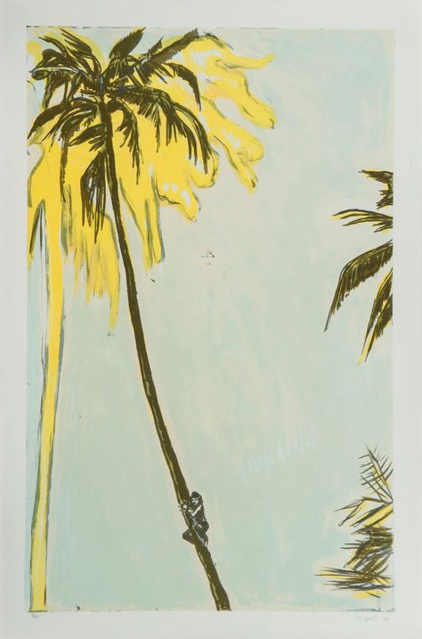 Peter Doig,  Untitled (Palm) , 2006