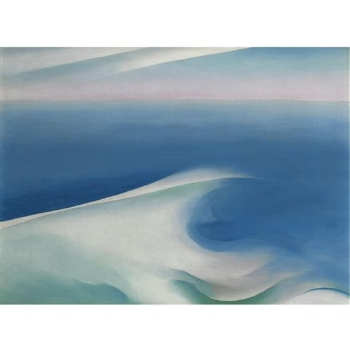 Georgia O'Keeffe, Blue Wave Maine
