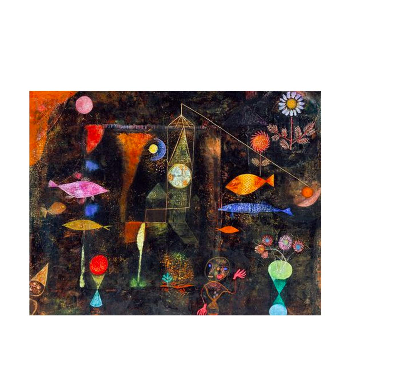Paul Klee,  Fish-Magic