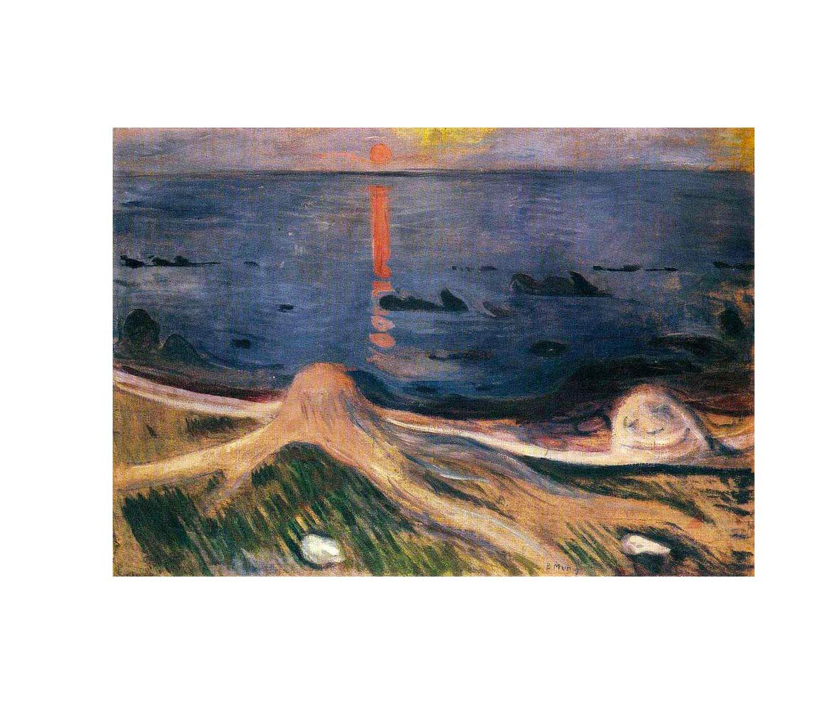 Edvard Munch,  The Mystery of a Summer Night , 1892