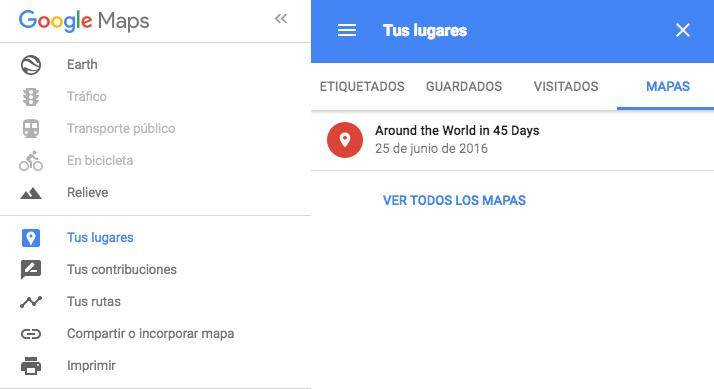 Mapas de Google Maps