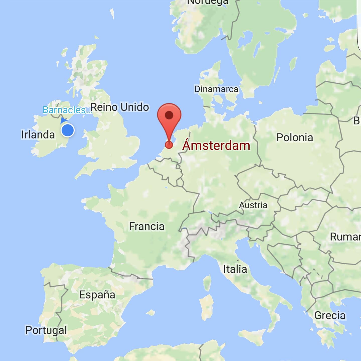 Amsterdam en Europa