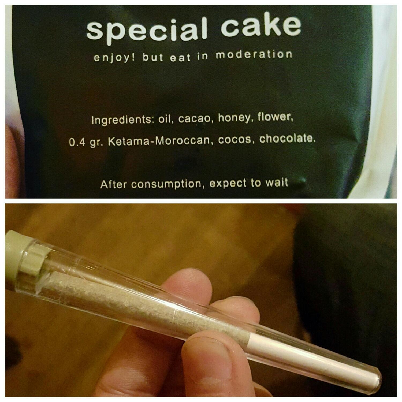 Productos que puedes comprar en un Coffe Shop: Space Cake, Cigarro de Marihuana
