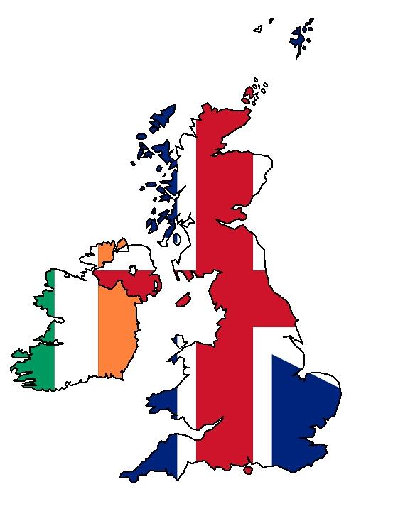 Irlanda y Gran Bretaña