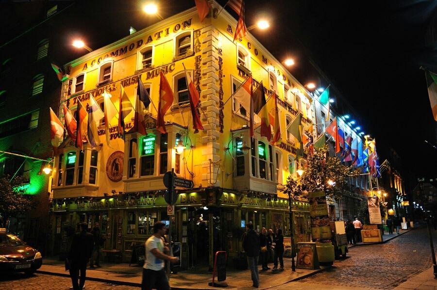 Temple Bars, Dublín