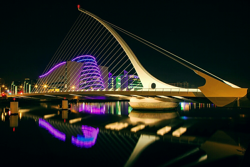 Puente Samuel Beckett, Dublín