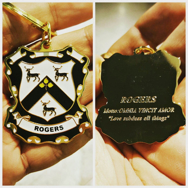 Escudo de Armas de la familia Rogers