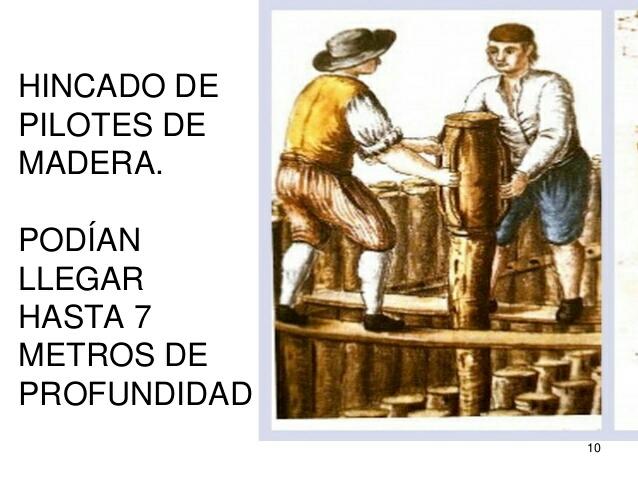 Pilares de Madera