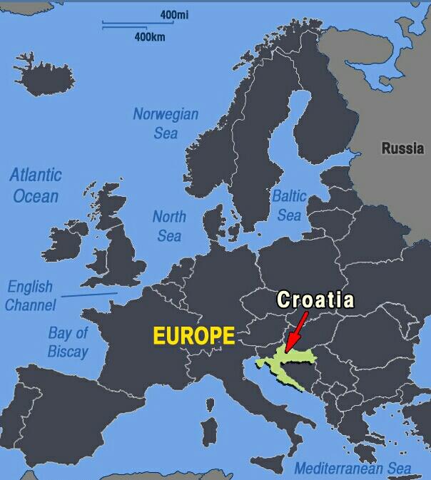 Croacia en Europa